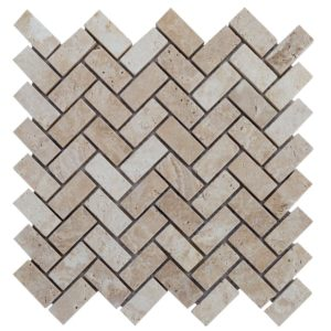 Classic Tumbled Travertine Mosaics