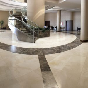 troya light pearl polished marble roomscene view 4
