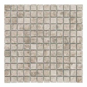 20012354-Light Emperador Polished Marble Mosaics-1x1x3x8-profile-www.thulahome.com