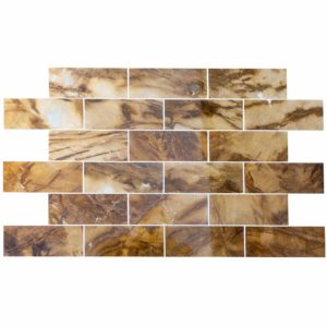 20012375 picasso marble tiles 12x36 polished top profile www.thulahome.com