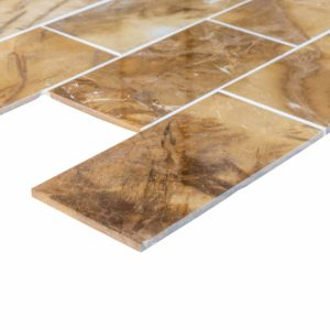 20012377 picasso marble tiles 18x36 polished top angle www.thulahome.com