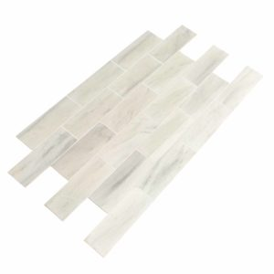 20012383 ibiza white marble tiles 12x36 polished top angle www.thulahome.com