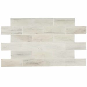 20012384 ibiza white marble tiles 12x36 honed top profile www.thulahome.com