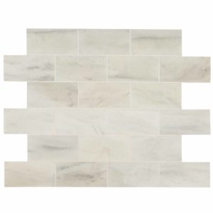 20012386 ibiza white marble tiles 18x36 honed top profile www.thulahome.com