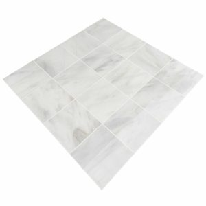 20012389 ibiza white marble tiles 36x36 polished top angle profile www.thulahome.com