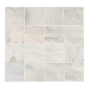 20012390 ibiza white marble tiles 36x36 honed top profile www.thulahome.com