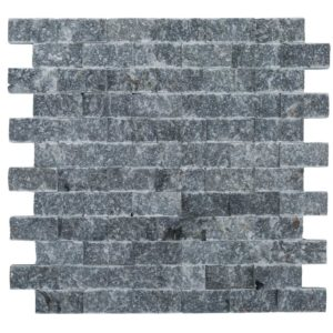 space gray split face marble mosaics