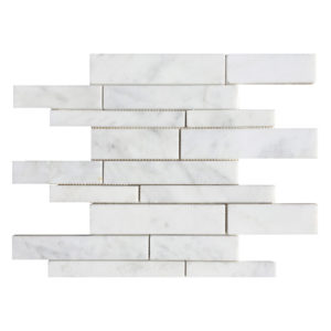 20012469-carrara-white-polished-marble-mosaics-random-top-profile-view-www.thulahome.com