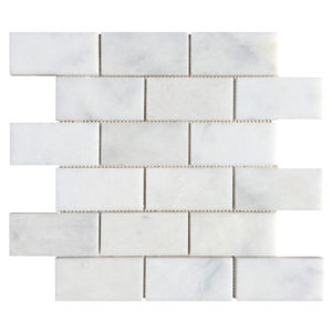 20020059-pamukkale-white-polished-marble-mosaics-brick-2x4-profile-view-www.thulahome.com