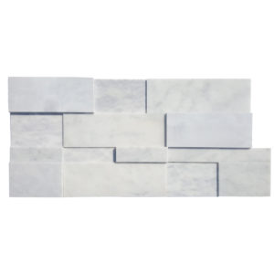 Carrara White Marble Facade - Polished