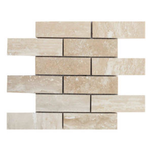 20012418-veincut-travertine-mosaics-2x6-polished-filled-top-piece-profile-www.thulahome.com