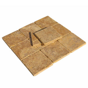 20012438-gold-yellow-tumbled-travertine-tiles-6x6-top-custom-angle-profile-www.thulahome.com