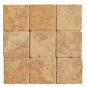 20012438-gold-yellow-tumbled-travertine-tiles-6x6-top-profile-www.thulahome.com