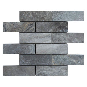 20012417-silver-travertine-mosaics-polished-filled-2x6-top-piece-profile-